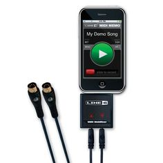 Line 6 Midi Mobilizer Hardware MIDI Interface Accessory for iPod touch, iPhone, and iPad
