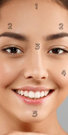Pickel im Gesicht: Das bedeutet der Ort laut Face Mapping - Acne Treatment Gesicht Mapping, Beauty Hacks Dark Circles, Face Care, Skin Care, Face Mapping, Acne Causes, Body Organs, How To Get Rid Of Acne, Jawline