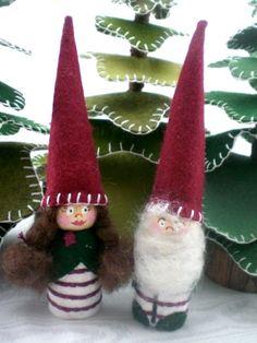 Holiday Gnomes | Wee Folk Art