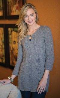 Gainesboro Tunic - from the Fall 2014 Issue of Love of Knitting magazine