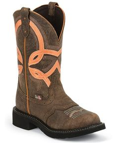 d34e96149 Justin Gypsy Bright Top Cowgirl Boots - Sheplers Justin Cowgirl Boots,  Brown Cowboy Boots,