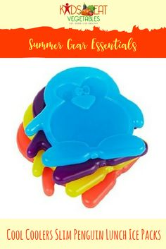 These lunch ice packs are beautifully sized to fit all types of bags and boxes.  Bring your favorite foods with you.  They will stay cool and fresh for a whole day.  Your family can eat healthy wherever you go.  This can go in your cooler.  We have that w