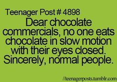 Chocolate Commercials Funny Added Aug Image