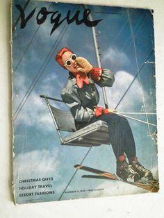 1939 Vogue Magazine    by rue23vintage