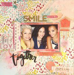 Smile Together - Scrapbook.com