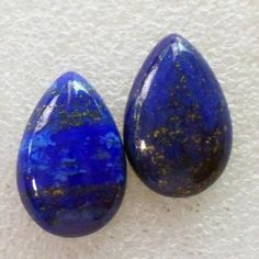 Mz Unisex-adult's 2Pcs Lapis Lazuli Teardrop CAB CABOCHON by MZ -- Awesome products selected by Anna Churchill