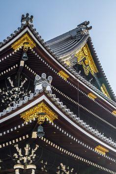 Higashi Hongan-Ji #japan #kyoto