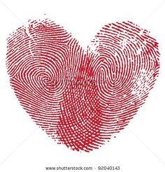 tattoo ideas, fingerprint, heart, kids prints, thumb prints, a tattoo, couple tattoos, sister tattoos, friend tattoos