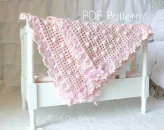 Crochet Baby Blanket PATTERN 12  Crochet Blanket PATTERN 12