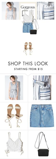 """""""IRISIE"""" by angel-from-heaven ❤ liked on Polyvore featuring Hollister Co., Anine Bing, Mulberry and irisie"""