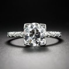 Vintage Tiffany & Co. Solitaire Diamond Engagement Ring