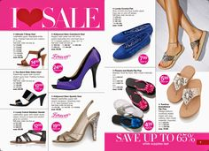 Avon Shoes and Footwear - Valentine's Day Gifts for Her from Avon.   Find unique gifts she will love! BeautyWithMary.com #ValentinesDay #Gifts #Valentines #Avon