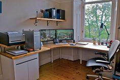 【画像】おしゃれなMacの机周りのまとめ : IT速報