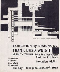 Frank Lloyd Wright Design Philosophy midway gardens monogram designedfrank lloyd wright. courtesy