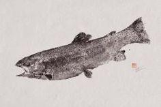 Rainbow Trout - Japanese Fish Art : Remodelista