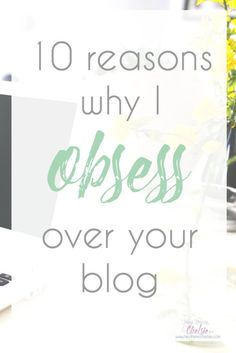 Bloggers are always looking for ways to grow their audience, but they really should be looking at how they can KEEP their audience coming back for more. Today, I'm sharing 10 reasons why I obsess over a blog and 10 blogs I obsess over. This post will teach any blogger exactly what they can do to get their readers obsessing (and sharing) their blog! // www.heytherechels...