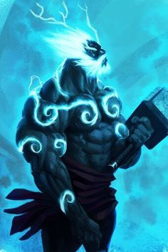 Marvel Comics Art, Marvel Heroes, Dungeons And Dragons Characters, Fantasy Characters, Dark Fantasy Art, Fantasy Artwork, Thor Costume, Wow Art, Marvel Wallpaper