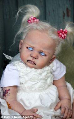 Zombie dolls are creepy new craze that just won't die! Artist creates 'undead…