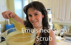 Emulsified Sugar Scrubs (+playlist)