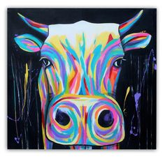 Color Cow by Paula Fägnell