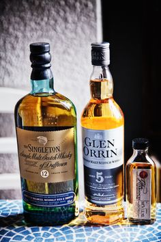 Various scotch whiskeys, Burns Night being the current excuse...