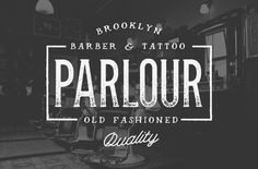 Over 50% Off - Parlour by Hustle Supply Co. on Creative Market