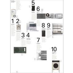 Dieter Rams 10 Principles of Design Portfolio Booklet, Portfolio Layout, Portfolio Design, Book Design, Web Design, Graphic Design, Dieter Rams Design, Bedroom Floor Plans, Principles Of Design
