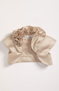Us Angels Cap Sleeve Satin Bolero (Toddler, Little Girls & Big Girls) | Nordstrom