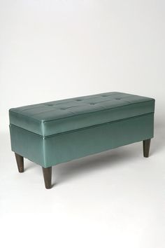 Jet Set Storage Bench. Oh, so this is way cooler than my brown bench from Target.