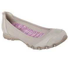 Glide along in smart style and amazing comfort in the SKECHERS Relaxed Fit®:  Bikers - Skims shoe. Soft lycra fabric and soft suede upper in a slip on  dress ...