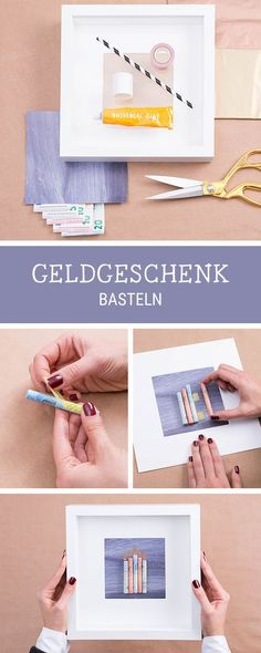 DIY-Inspiration für originelle Geldgeschenke, Gutscheine verschenken / diy tutorial: how to wrap money gifts via DaWanda.com