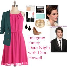 Imagine: Fancy Date Night with Dan Howell by charbear231 on Polyvore