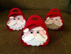 Curvy Keepsake Santa