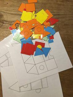 vorm magneten en bouwplaten