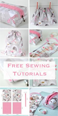 Free sewing tutorials with step by step, patterns and where to buy the supplies