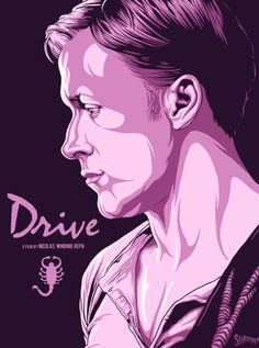 In The Mouth Of Dorkness: Dork Art: Drive Fan Art Obsessing
