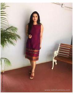 Long Dress Design, Dress Neck Designs, Blouse Designs, Long Gown Dress, Saree Dress, Saree Blouse, Sari, Simple Kurti Designs, Kurta Designs Women