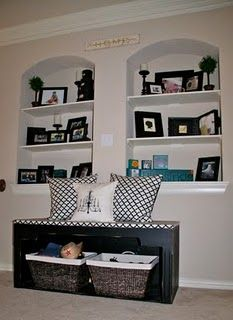 nice idea for insets in the wall