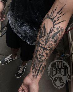 Obrigaaaah! #rataria #tattoo #blackwork #blackworkers #blackworkerssubmission #ttblackink #onlyblackart #theblackmasters #tattooartwork #inkstinct #inkstinctsubmission #superbtattoos #wiilsubmission #stabmegod #tattoos_artwork #tattoowolf #wolf
