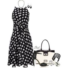 """""""Seeing Dot's"""" by tmlstyle on Polyvore"""