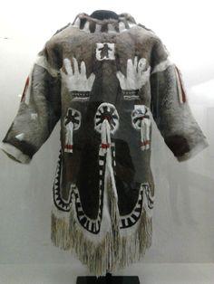 oat shaman Qingailisaq, Inuit population (Iglulik), Canada, 1902, Laval University, Quebec
