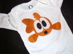Goldfish  Custom Size Applique Shirt by SweetLittleJack on Etsy, $16.00