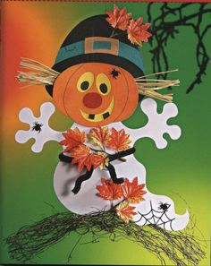 Ősz :: Óvoda Bricolage Halloween, Easy Halloween Crafts, Fall Crafts, Holiday Crafts, Halloween Decorations, Halloween 2018, Halloween Art, Holidays Halloween, Happy Halloween