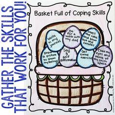 Coping Skills Spring/Easter Activity for Elementary School