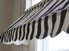 """Custom Made Indoor Awning - 14 1/2"""" High and 18 to 50"""" Wide (Choose from Available Fabrics or Provide Your Own Fabric)  33"""" would be perfect for b's kitchen"""