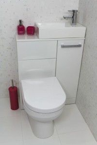 A bit too modern for me but I really like the way they've fitted a toilet and sink into such a small, but still useable, space.
