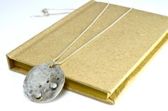 Sterling Silver Circle Necklace by justbujewelry on Etsy, $45.00