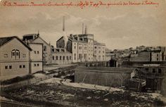 Bomonti Bira Fabrikası (1900ler) F: Max Fruchtermann #Feriköy #İstanbul #istanlook