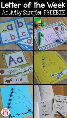 Many engaging hands-on alphabet activities that are perfect beginning of the school year set for your letter of the week or early literacy curriculum.  Teach letter recognition, letter formation, and letter-sound association.  Check out these free letter A activities today.  Perfect for small group and large group activities in preschool, pre-k, kindergarten, TK and SPED.  Alphabet activities are great for literacy centers, ELA centers, and literacy workstations.