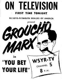Groucho en TV